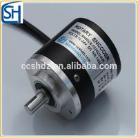 Quality 6/8/10mm Standard Incremental Optical Rotary Shaft Encoder SH-45 for sale