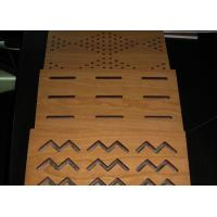Buy cheap Decorative Wooden MDF Acoustic Panel For Stadium Walls , Fire - Proof BT new pattern from wholesalers