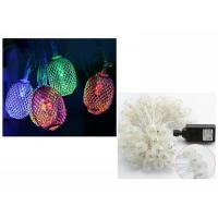 Buy cheap Xmas LED String Lights Fairy Lamps 110 Voltage White / Warm White 6 Meters product