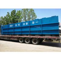 Quality Outdoor Automatic Sewage Treatment Plant Anti - Corrosion Coating Available for sale