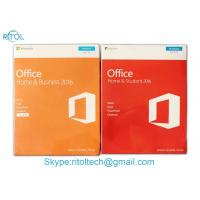 Buy cheap Microsoft Office Home And Business 2016 FPP , Microsoft Office Home & Business from wholesalers