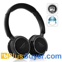 China SoundMax - Over-the-Ear Headphone with MP3 Player and FM Radio on sale