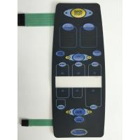 Buy cheap Rim embossing buttons two layers circuit Membrane Switches product