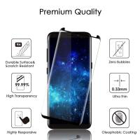 Buy cheap Case Friendly Smartphone Glass Screen Protector Shatterproof 3D Curved For Samsung S8 product