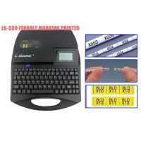 Buy cheap tube printing wire label printer 300dpi 5 lines 100,000 characters for communication product