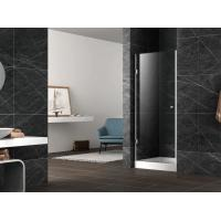 Buy cheap Pivot shower door with stainless steel 304 hinge and knob,3/8 inches clear tempered glass from wholesalers