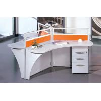 Buy cheap Triangle shape aluminum and MFC board staff partition moder office modular workstation with triangle shape BS- XJCP-GA07 product