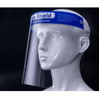 Buy cheap Personal PET Protective Face Shield 450mm Strap Length Long Service Life product