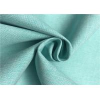 Buy cheap Two Tone Look Comfortable Polyester Cationic Fabric , Waterproof Polyester Fabric product
