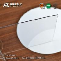 8mm Clear static dissipative acrylic Sheet Resistance To Chemical Solvents