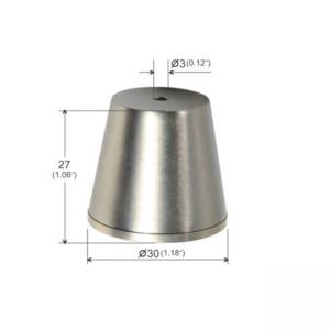 Buy cheap Ceiling Attachment Cylindrical Trapezoidal Brass Plated Nickel YW86278 product