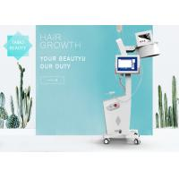 Buy cheap 650nm Diode Laser Hair Restoration Machine With 8 Inch Multi Color Touch Screen CE Approved product
