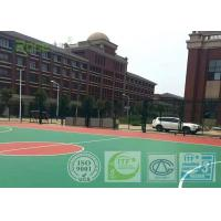 Wear Resistant Outdoor Basketball Court Flooring , Multi Purpose Outdoor Sports Courts