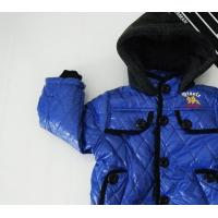 Buy cheap Fashionable design Blue,Dark Red, Black natural cotton Boy children Down Coat from wholesalers