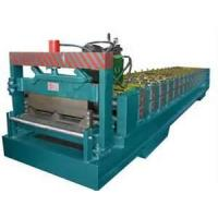 Buy cheap Glazed / Wave Metal Sheet standing seam Double Roof Roll Forming Machine from wholesalers