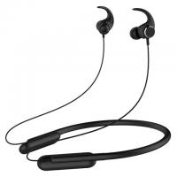 China V4.2 Neckband Bluetooth Headphones With Microphone Built In Black Color on sale