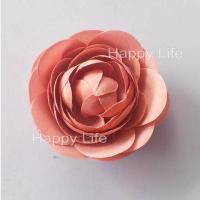 China decorative flower heads artificial craft silk flower on sale