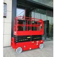 Buy cheap 16m Height Access 230kg Hydraulic Scissor Lift Platform With CE product