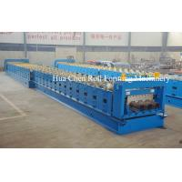 Buy cheap Huachen Decking floor production roll forming line /high quality deck floor machine product