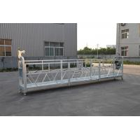 Buy cheap 3 Phase Rope Suspended Platform Hot Galvanized 7.5m Zlp800a For Wall Painting from wholesalers