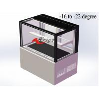 Buy cheap -16 To -22 Degree Freezing Showcase For Ice Cream Cake / Popsicle / Digital Controller product