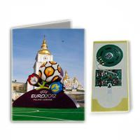 Buy cheap A4 size paper flashing Musical Greetings Cards with full color print for girls gifts product