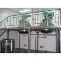 Buy cheap Capsule Manufacturing Machine Three Layered Water Bathe Gelatin Service Tank from wholesalers