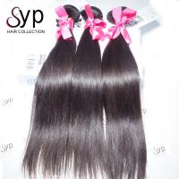 Cheap Remy Brazilian Virgin Straight Human Hair Bundle Extensions