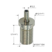 Buy cheap M10 Thread Wire Cable Grippers Brass or Stainless Steel For Linear Light YW86084 product