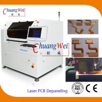 Buy cheap 10W US Laser PCB Cutter Machine / Depaneling Machine With 460 * 460mm Working Area from wholesalers