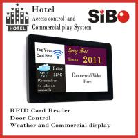 """Buy cheap SIBO 7"""" Wall Mounting Android Industrial Panel PC with LED light bar, POE RJ45 port, NFC reader product"""
