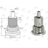 Buy cheap Mini Grip Lock Cable Grippers Nickel Plated Brass Material With a Base from wholesalers