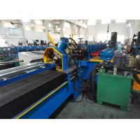 Buy cheap Diagonal Bracing Section Roll Forming Machine; Warehouse Rack C Bracing Rollformer product