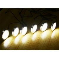 Buy cheap 2W LED Under Cabinet Puck Lights Kit with Touch Dimming Switch from wholesalers