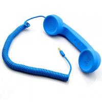 Buy cheap retro pop handset with talking buttons and remote volume control product