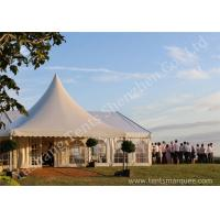 Buy cheap Decorated Luxury Wedding Tents Marquee With Noble / Gorgeous Linings product