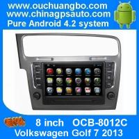 Buy cheap Ouchuangbo Android 4.2 DVD Radio GPS Navi for Volkswagen Golf 7 2013 3G Wifi Audio SD WIFI product