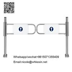 China supermarket swing gate barriers /supermarket turnstiles barrier gate on sale