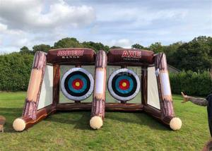 Buy cheap Interactive Sport Shooting Games Inflatable Axe Throwing Sticky Tossing Game For Adult And Kids product