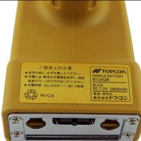 Buy cheap 2800mah 7.2 V Nicd Battery, Yellow Topcon Bt 24q Rechargeable Battery Pack product