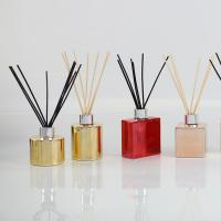 Buy cheap Electroplating Bottle Home Scent Diffuser / Luxury Reed Diffuser With Customized Box product