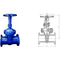 Buy cheap DIN F7 WCB CF8 Electric Actuated Water Gate Valves Flange end product