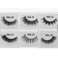 Long Natural False Eyelashes 100% Real Strip Mink Fur Eyelash Extension