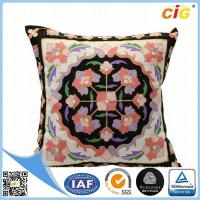 Buy cheap Faux Fur / Polyester Multi Color Square Decorative Throw Pillow Covers for Couch / Bed / Sofa product