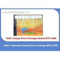 Buy cheap 1500+ Channels IPTV Android App Android Television App Dual Core product