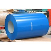Buy cheap Buildings Roofing Systems Prepainted Galvalume Steel Coil Blue For Steel Tiles product