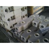 Buy cheap Thermal Pouring High Alumina Refractory Brick For Steel Industry , White Color product