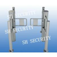 Buy cheap Optical Waist Height Acess Control Baffle Turnstile product