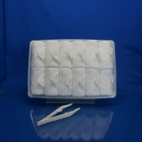 Buy cheap White cotton hot/cold disposable towel product
