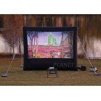 Buy cheap Commercial Inflatable Movie Screen 210 D Reinforced Oxford Material product